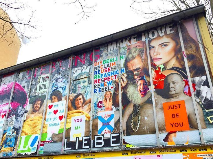 I adore #wallArt! Especially art promoting #love! #visitberlin #loveyourself #germany #popofcolor #travelnoire #travel #travelphotography  #liebe #amour #amore #funky #art #kunst #instalove #instatravel #makelovenotwar #neverstopexploring #amor #expressyourself #realestlivingbeco
