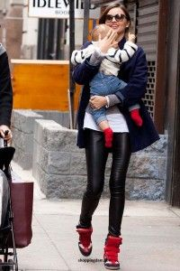 Miranda Kerr Sneakers Shoes New Idol Celebrities