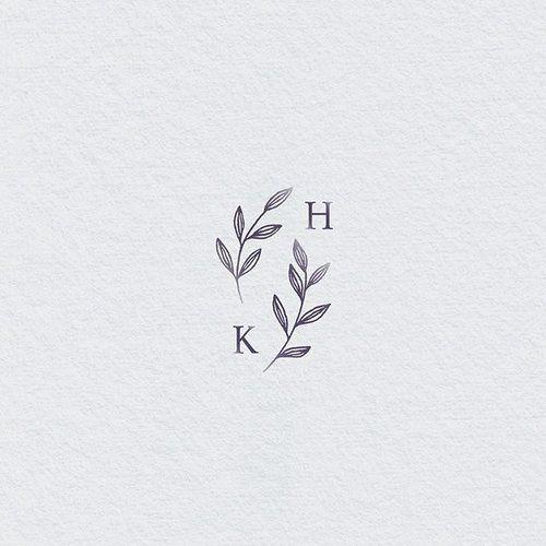 Hochzeitslogo. Eine einfache Möglichkeit, Ihre Hochzeit zu personalisieren und zu brandmarken. #Tattoos #Ale