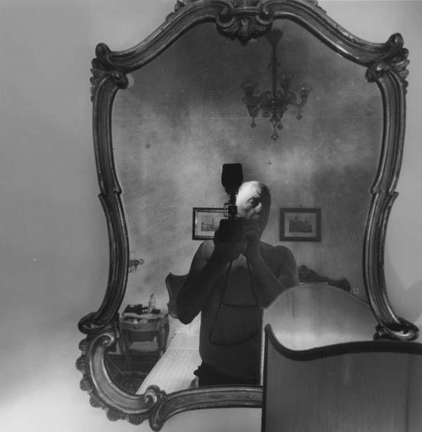 Lee Friedlander. vintage everyday: Interesting Photos of Famous Photographer's Self-portraits