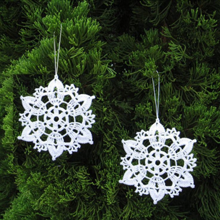 Find More Christmas Information about Set of 10 Crocheted Snowflake Home decor, Ornaments, Christmas Ornaments, White Christmas Decorations,High Quality ornament christmas tree,China christmas gifts for grandpa Suppliers, Cheap christmas ornament display tree from Physical picture 100% on Aliexpress.com