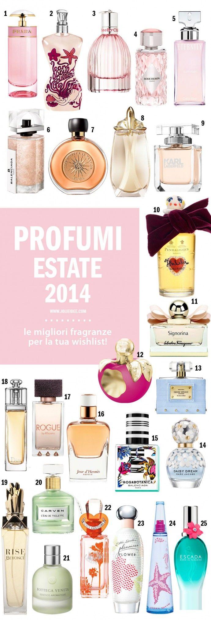 Profumi donna Estate 2014 - Le novità e i must have