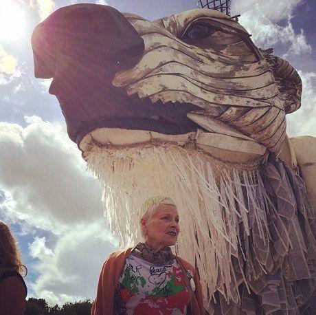 Vivienne Westwood - Glastonbury
