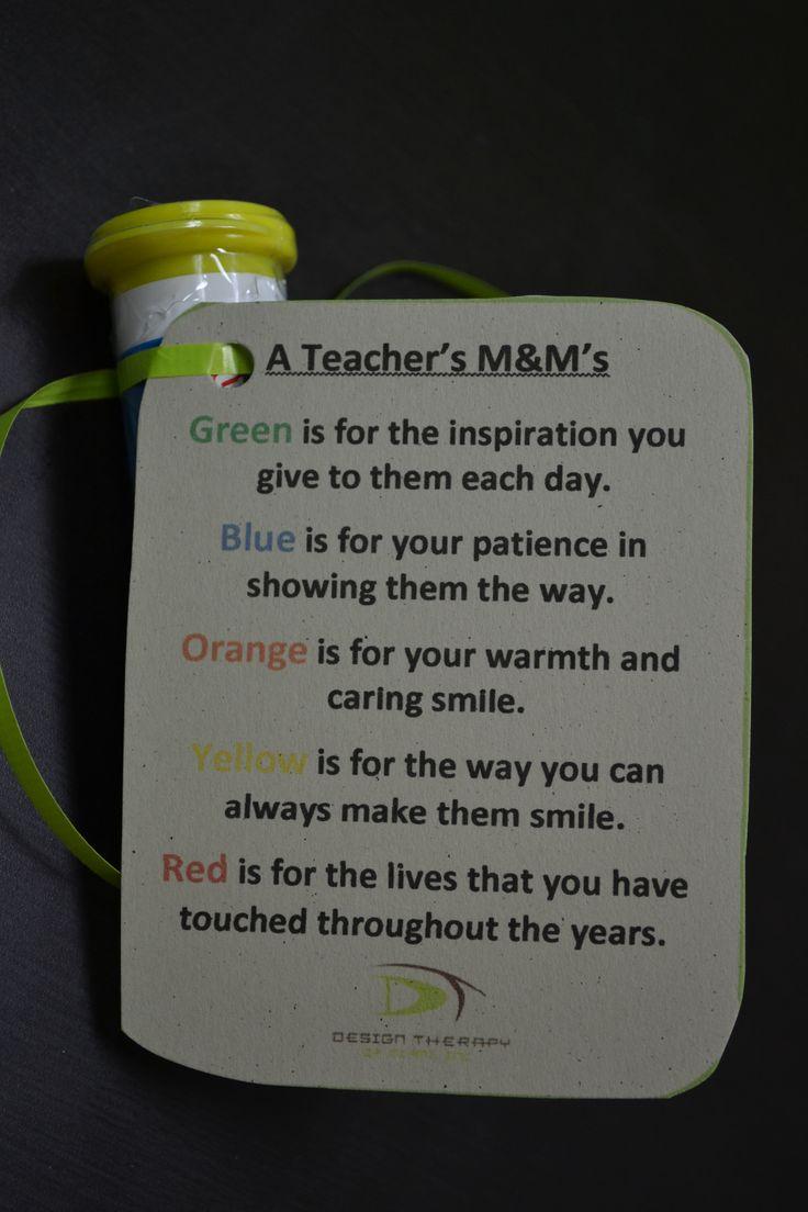 Teacher M Gift!