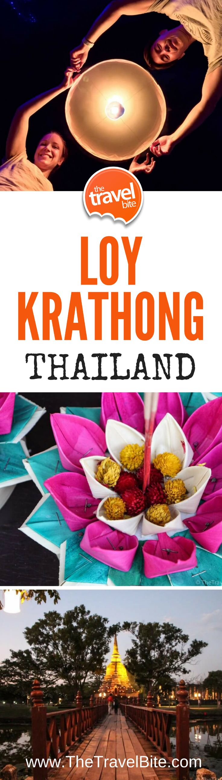 Celebrating Loy Krathong in Sukhothai, Thailand!Autumn is a great time of year to visit Thailand as the tropical weather is a bit more mild and there's a sense of magic in the air with two local festivals:  Loy Krathong and Yi Peng.