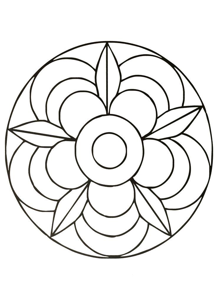 Pour les plus jeunes, voici des Mandalas très simples, à colorier en toute liberté. Avec crayons de couleur, feutres, ou même peinture, le résultat sera forcément au rendez-vous ... Parfait pour apprendre à ne pas dépasser ! Plusieurs thèmes sont proposés, il en faut pour tous les goûts, et pour les petites filles comme les petits garçons.