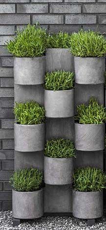 110 besten sch ner steingarten bilder auf pinterest garten terrasse landschaftsbau und vorg rten - Vertikale wandbepflanzung ...