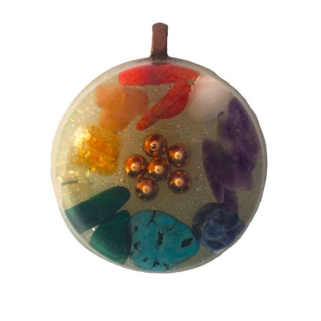 65 best orgone and orgonite images on pinterest chakra balancing seven chakra orgonite pendant chakra balancing chakra clearing amethyst lapis lazuli mozeypictures Image collections