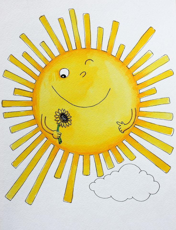 Солнышко в ладошке картинки для детей