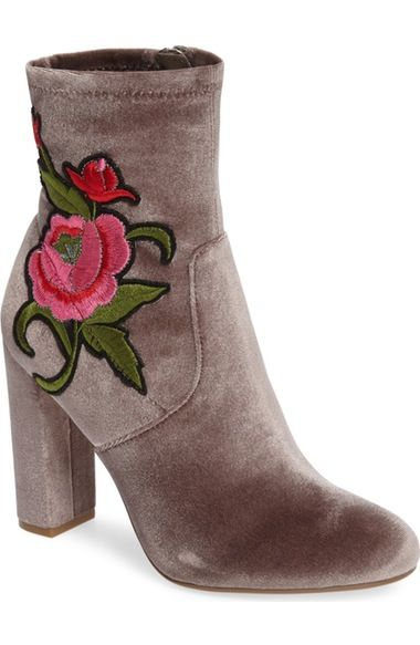 Steve Madden Edition Embroidered Bootie (Women) available at #Nordstrom