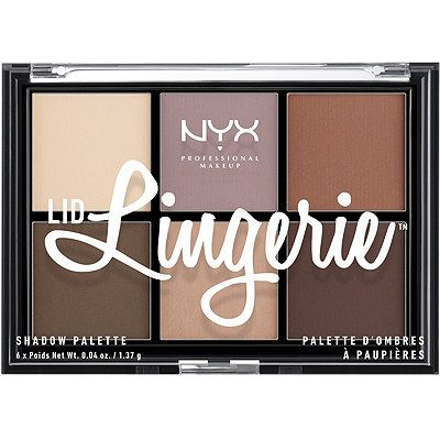 Nyx Cosmetics Lid Lingerie Shadow Palette