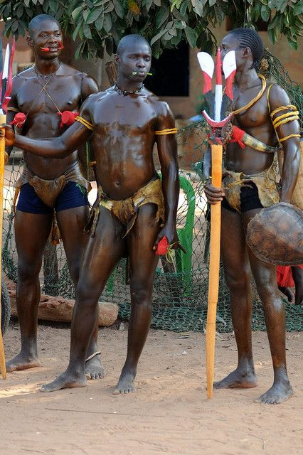 Bijago warriors (Guinea Bissau)