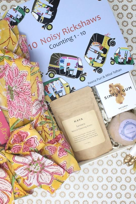 A Mommy To Be Curated Gift Box With An Indian Twist Perfect For