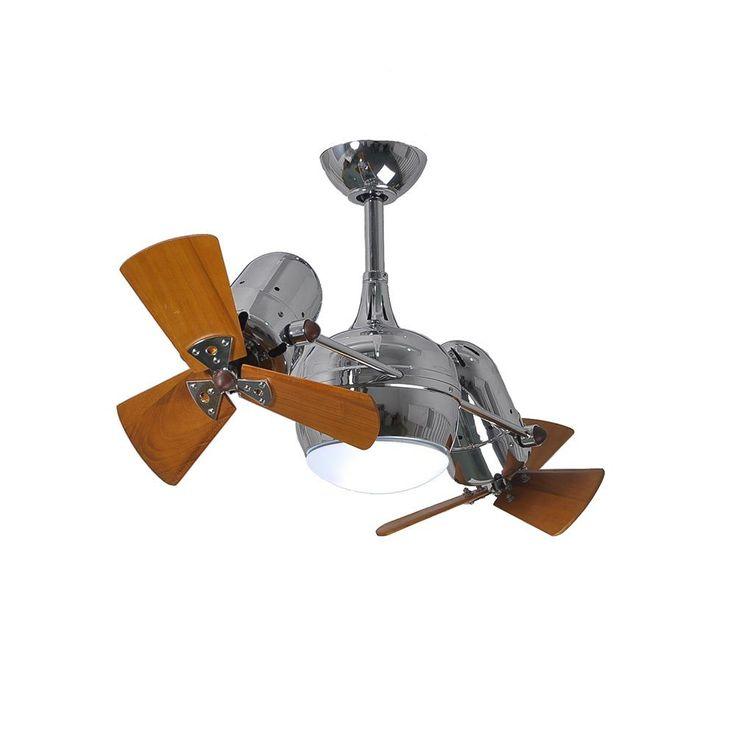 Matthews Fan Company Dagny 2 Light Ceiling Fan Polished