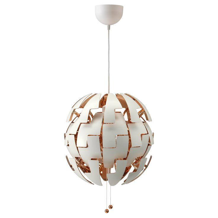 IKEA - IKEA PS 2014, Taklampe, , Du kan enkelt skifte mellom sterkere generell belysning og en mer dempet stemningsbelysning ved å bare trekke i trådene.Gir dekorative mønstre i taket og på veggen.