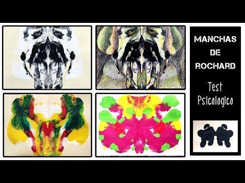 Manchas o láminas de Rorschach * ¡Adivina qué forma es! - YouTube