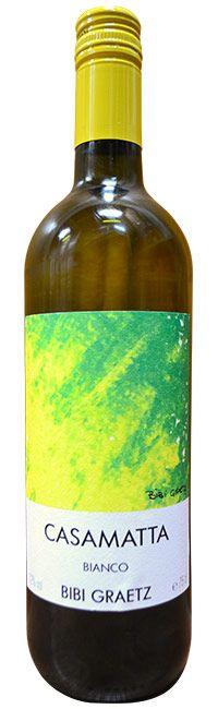 【楽天市場】カザマッタ・ビアンコ・ビービー・グラーツCASAMATTA BIANCO BIBI GRAETZ:うきうきワインの玉手箱