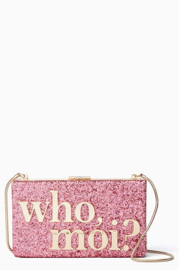 gucci bags at nordstrom. kate spade new york who moi? glitter clutch available at # gucci bags nordstrom