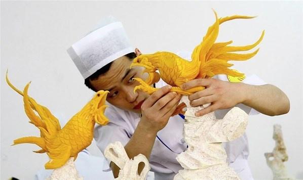 Seni dari Bahan Makanan yang Mengagumkan