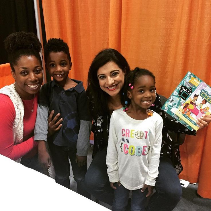 Reshma Saujani is a superstar for girls everywhere!