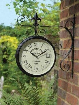Large Outdoor Garden Paddington Station Wall Clock ...