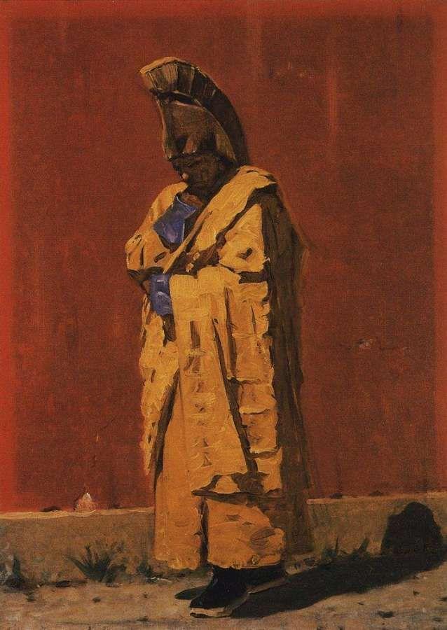 Василий Верещагин - Калмыцкий лама (1873)
