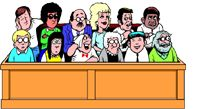 This is a link for a mock trial. Students play a part in the entire process. This is a fun hands-on activity for students to do when learning about the branches of government.