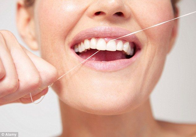 DidYouKnow flossing your teeth daily means you may be more likely to keep your teeth and less likely to need dentures later in life. More info at http://DrDalyDentistry.com