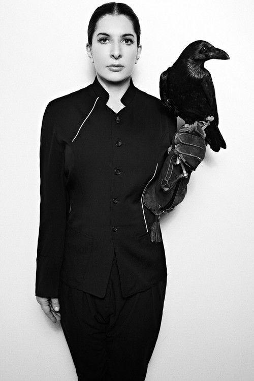 Marina Abramoić photographed by Xevi Muntané for Bullett magazine.  Source: bullettmedia.com