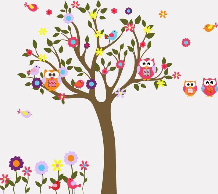 Color Tree Wallpaper