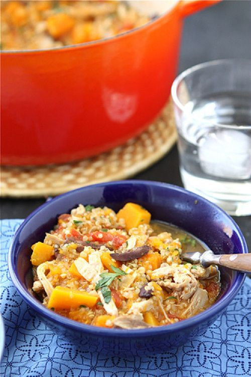 African Peanut Stew With Shrimp And Butternut Squash Recipe ...