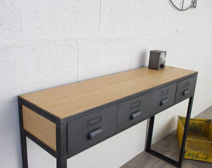 Les 54 meilleures images du tableau cr ation restauration de meuble industriel sur pinterest - Restauration meuble industriel ...