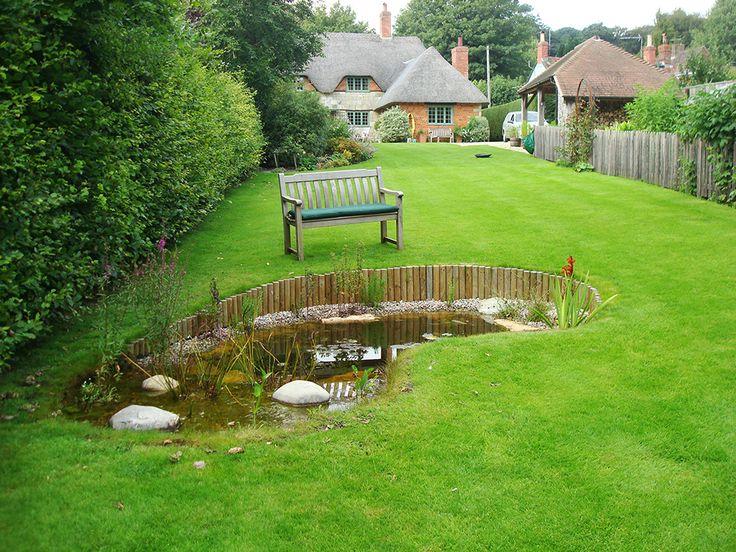 natural garden ponds - Google Search | Ponds backyard ... on Backyard Pond Landscaping Ideas  id=13749