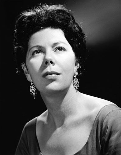 The thoughtful Dame Janet Baker, studio photo