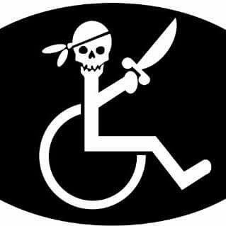 Pirate wheelchair meme