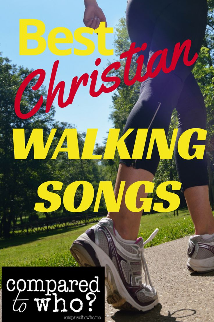 Best Christian Walking Songs for a great and uplifting workout!