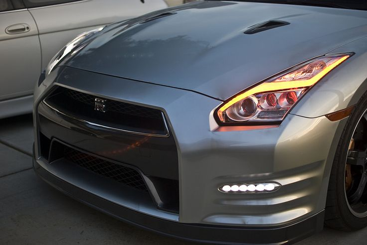 Nissan GTR 2015 Sequential LED Headlights
