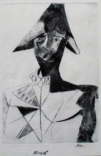 Klaun by Frantisek Tichy