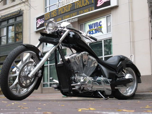 Got Info On Air Ride Shocks Honda Fury Forums Chopper Forum Custom Motorcycle