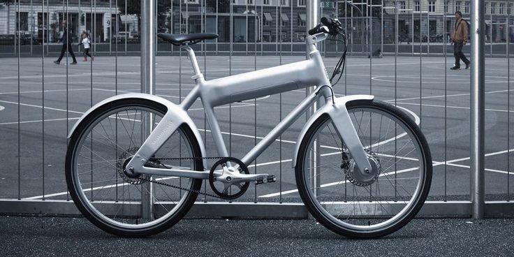 Biomega сочетает чистый дизайн и чистый городской транспорт в электронном велосипеде ОКО
