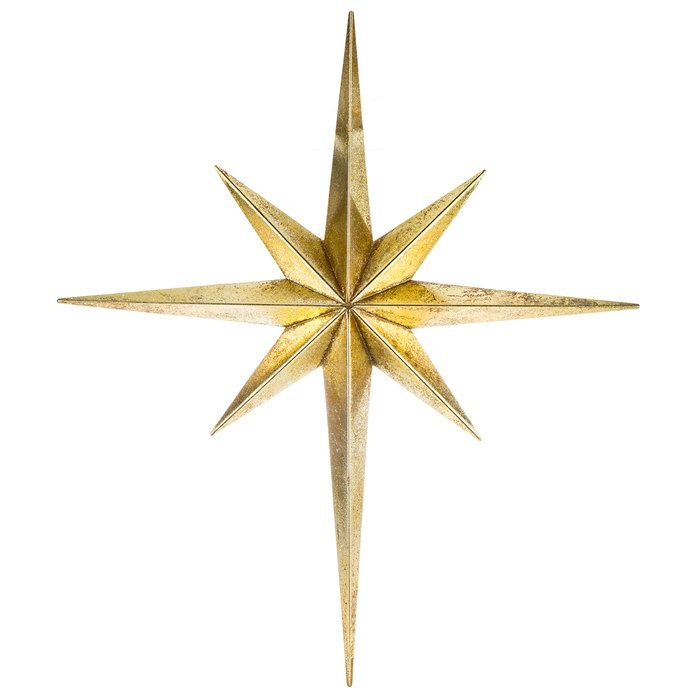 Get Gold Star Of Bethlehem Metal Wall Decor Online Or Find Other Wall Decor Products From Hobbylobby Com Star Of Bethlehem Stars Wall Decor Gold Wall Decor