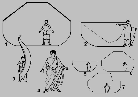 how to dress in a toga