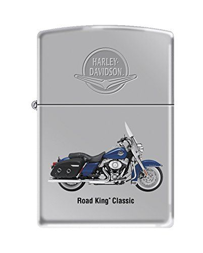Harley-Davidson fans will love this high polish chrome windproof lighter featuring the road King classic motorcycle color imaged on this lighter and Harley-Davidson name and wings Luster etched on the lid of this lighter. Comes packaged in an environmentally friendly gift box. For optimal performance, fill with Zippo premium lighter fluid. Product Features Genuine Zippo […]