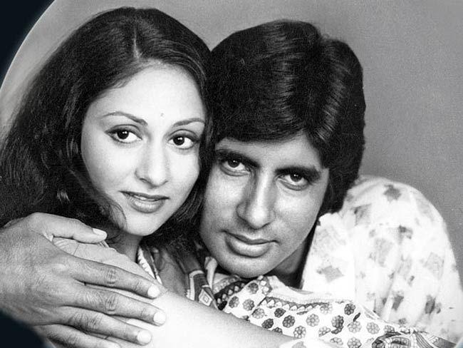 Amitabh Bachchan & Jaya Bhaduri