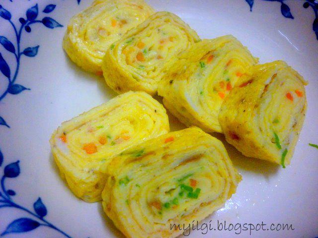 MY ILGI: Resepi Korean Egg Roll