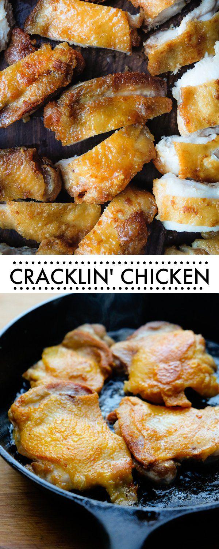 Nom Nom Paleo's Cracklin' Chicken is weeknight staple! Find the recipe on Shutterbean.com