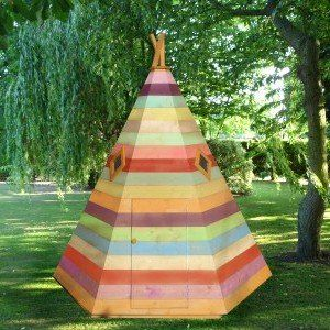 Shire Wigwam Playhouse, wooden playhouses for children
