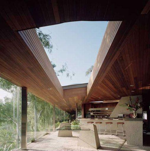 Casa no meio da natureza de Hollywood Hills