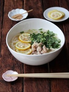 Yuzu pepper Chicken,Udon