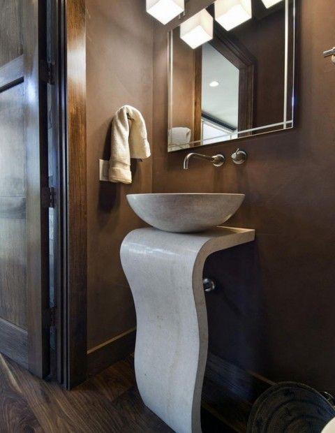 Las 25 mejores ideas sobre lavabos de marmol en pinterest for Lavamanos de marmol
